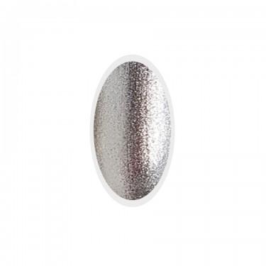 Smalto Semipermanente per unghie Silver Metal Go! Polish n.80