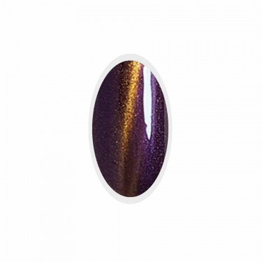 Smalto Semipermanente Cat Eyes Purple Gold Go! Polish n.87