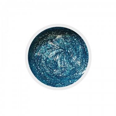 Gel colorato per unghie n.133 Sparkling Blue