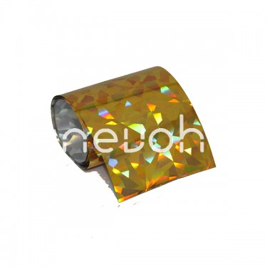 Transfer Paper Gold Disco 100x4 cm