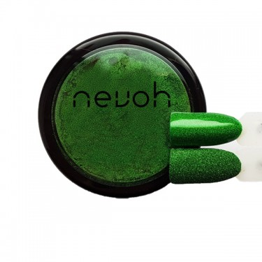 Polvere Microglitter Green  0.05mm