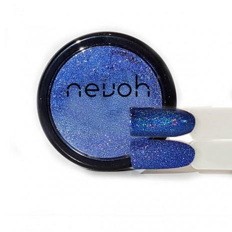 Polvere Microglitter Blu Holographic