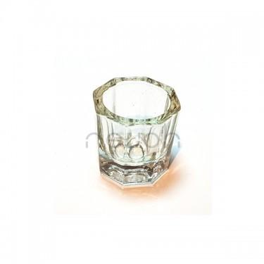 Bicchierino in vetro per Monomero Acrilico