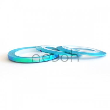 Striping Tape Vetrage Light Blue 3 misure