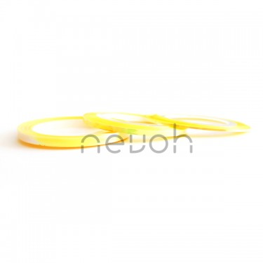 Striping Tape Vetrage Yellow 3 misure