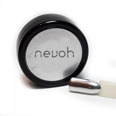 Pigmento per unghie Metal Crome Argento | Noah Cosmetics