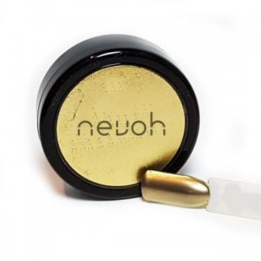 Pigmento per unghie Metal Crome Oro | Noah Cosmetics