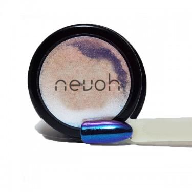 Polvere Mirror Camaleonte blu-viola polvere effetto specchio per unghie