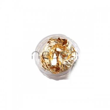 Foglio oro per decorazione unghie